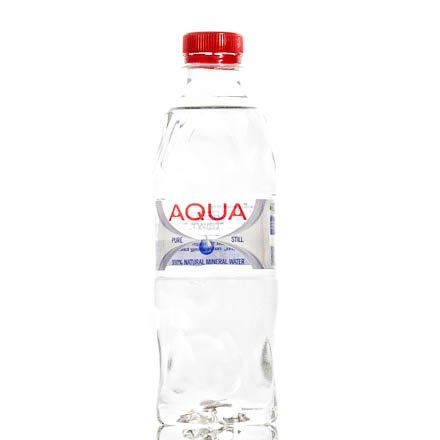 Image of a Aqua water bottle