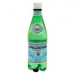 Image of a San Pellegrino Water bottle