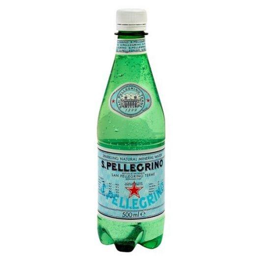 Image of a San Pellegrino Water bottle
