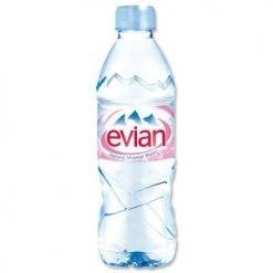 Image of an Evian Still Water Bottle