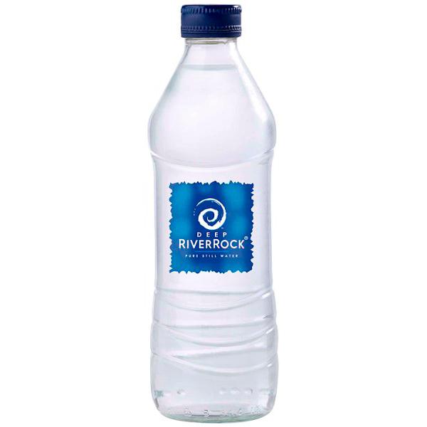 Image of a Deep RiverRock Still Glass Bottle