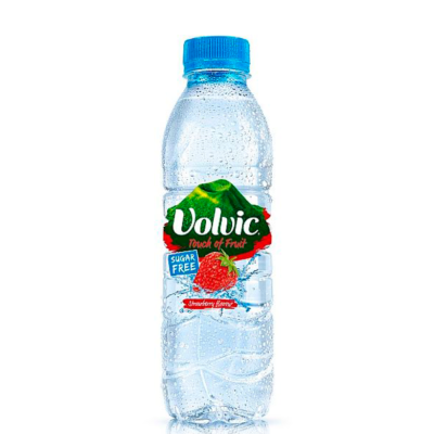 Image of a Volvic Touch Of Fruit Strawberry Sugar Free bottle