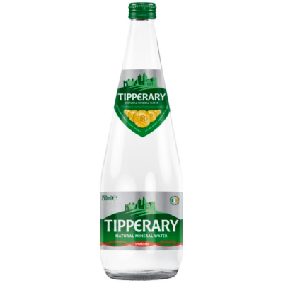 Image if a Tipperary Sparkling Water Glass Bottle