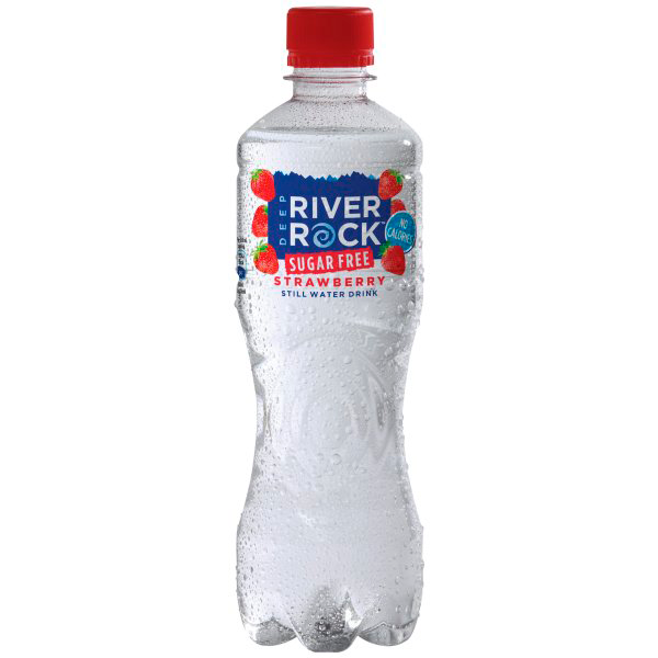 Image of a Deep River Rock Strawberry bottle