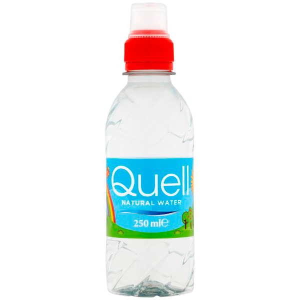 Image of a Quell Kids Still Water bottle