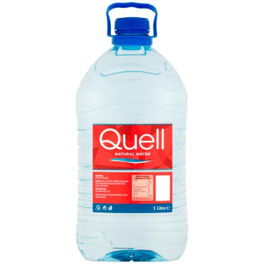 Image of a Quell Natural Water Still 5 Ltr bottle
