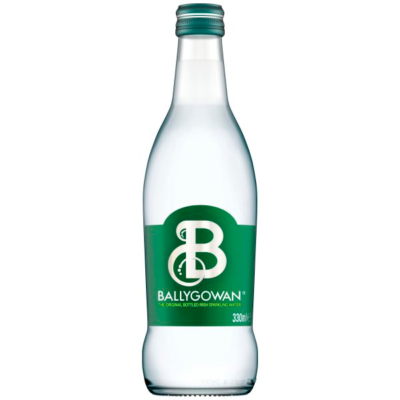 Image of a Ballygowan Sparkling Water Glass Bottle