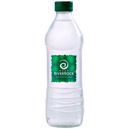 Image of a Deep RiverRock Sparkling Glass Bottle